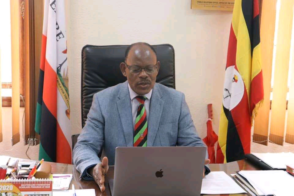 Makerere University Vice Chancellor Barnabas Nawangwe (PHOTO/Courtesy).