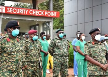 Several Health workers and security personnel have tested positive for the virus (PHOTO/File).
