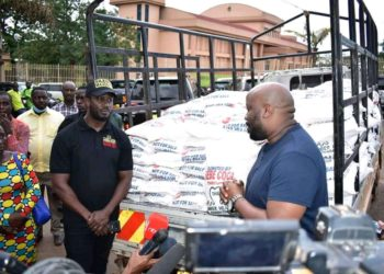 Galaxy FM's DJ Nimrod was arrested while distributing food contrary to president's directives