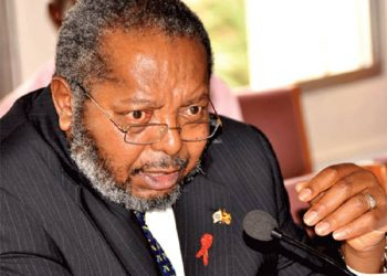 Central Bank Governor Emmanuel Tumusiime-Mutebile is in hospital but the bank says he is doing well at the moment (PHOTO/File).