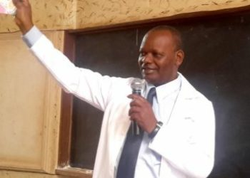 Dr. Edward Ddumba was serving as Medical Director, Nsambya Hospital at the time of his death (PHOTO/Courtesy).