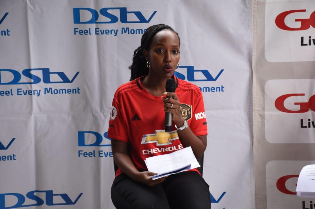 Ms. Joan Semanda, the Public Relations and Communication Manager at MultiChoice Uganda (PHOTO/PML Daily)