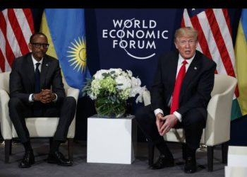 Rwanda and US presidents Paul Kagame and Donald Trump respectively (PHOTO/File).