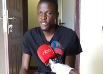 Robert Mijumbi, a Kyambogo University student
