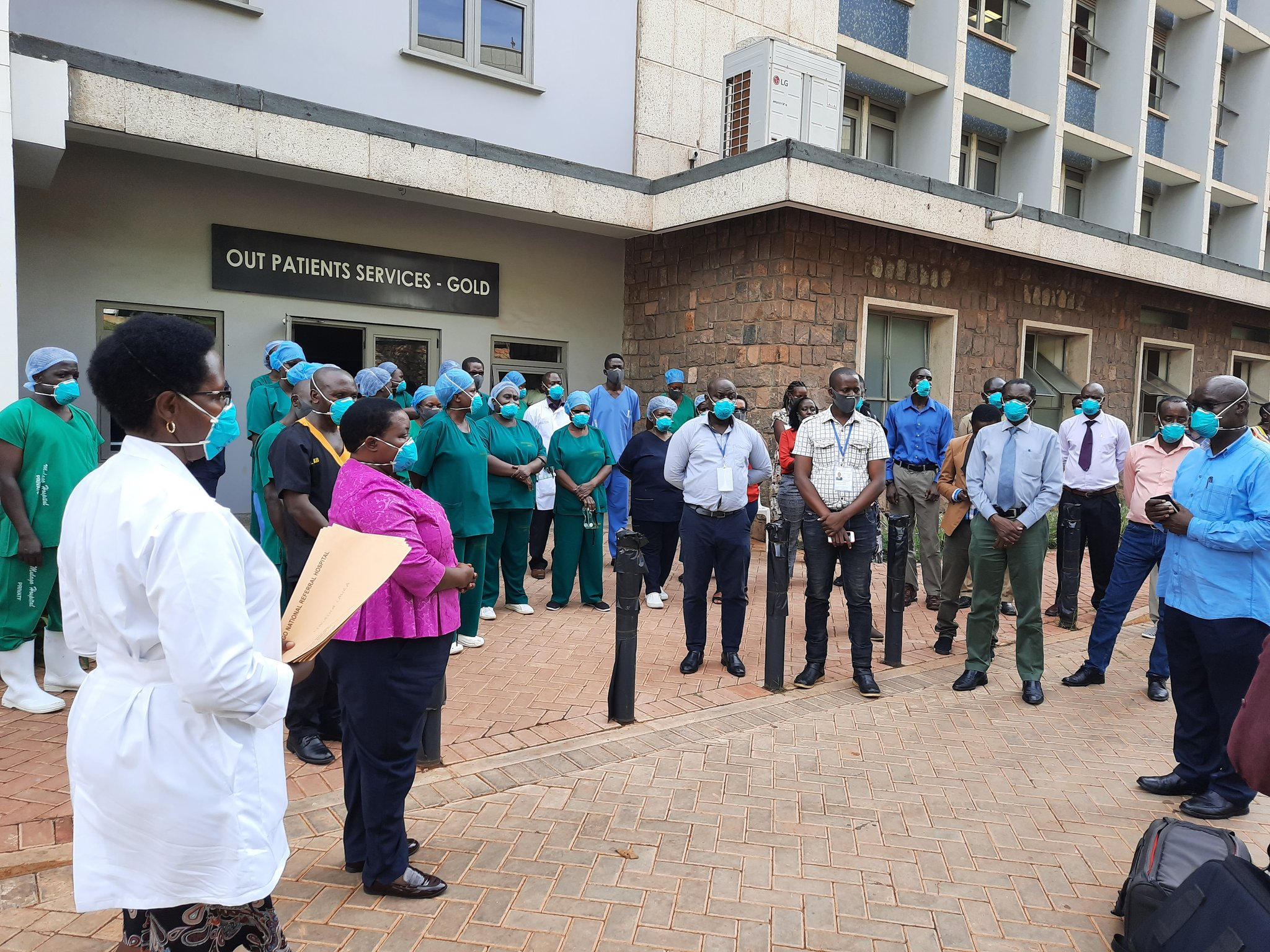 A nurse at Mulago National Specialized Hospital has tested positive for coronavirus (PHOTO/File)