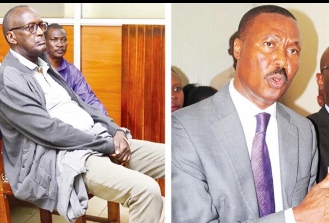 Generals Tumukunde and Mugisha Muntu respectively (PHOTO/File).