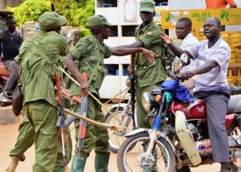 LDU officers have severally been accused of beating up Ugandans
