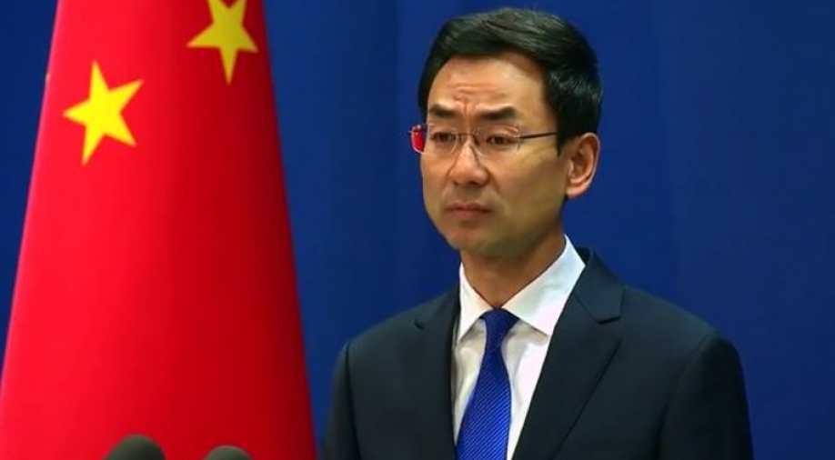 Spokesperson Geng Shuang