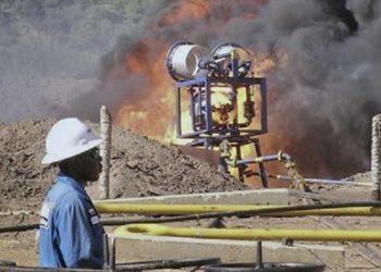 An oil well undergoes testing in the Lake Albertine region of western Uganda (PHOTO/Courtesy)