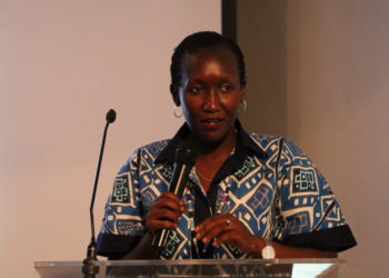 Eng. Irene Kaggwa Sewankambo, the Acting Executive Director at Uganda Communications Commission (PHOTO/Courtesy)
