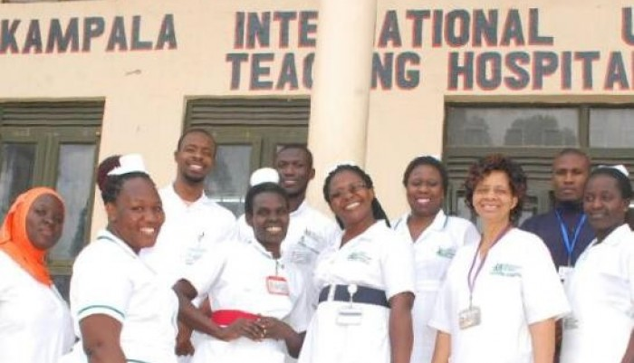 Some of the Kampala International University Teaching Hospital