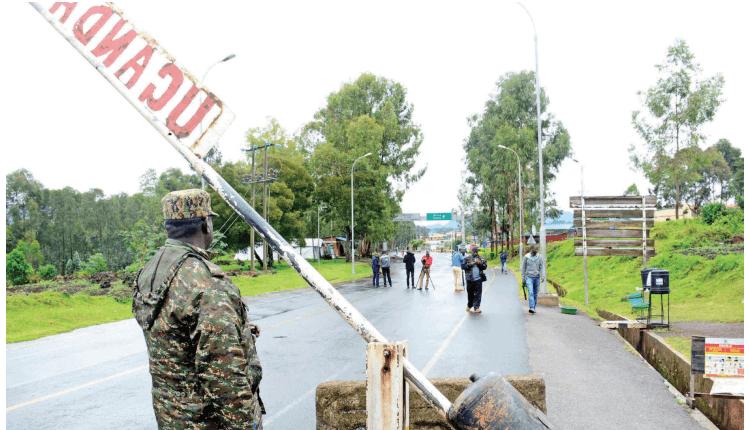 UPDF Officer at one of the Uganda-Rwanda borders (PHOTO/File).