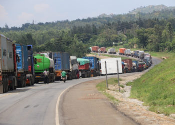 Rwanda has set tough tight guidelines for Tanzanian truck drivers (PHOTO/File)