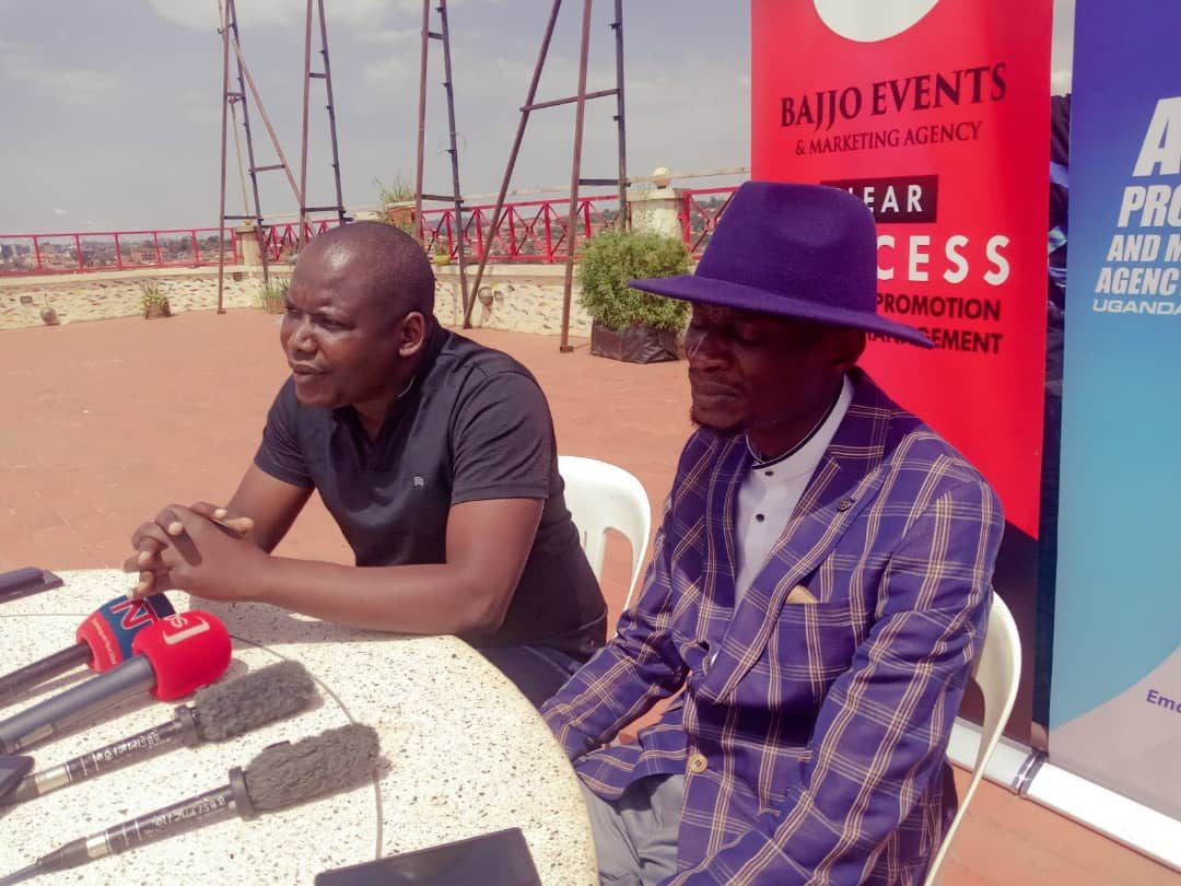 Event promoters Bajjo and Abtex addressing the press recently (PHOTO/Nelson Mandela).