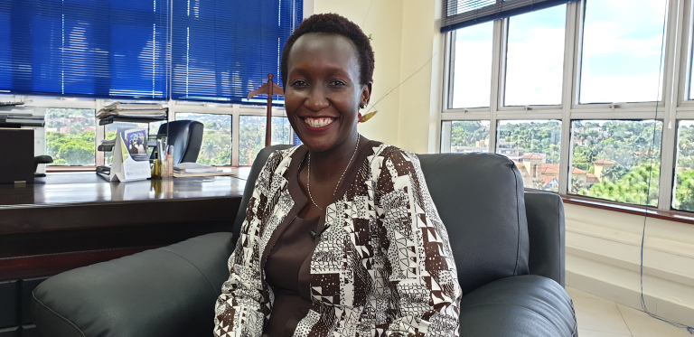 Eng. Irene Kaggwa Ssewankambo Acting Executive Director at  Uganda Communications Commission (UCC) (PHOTO/Courtesy)
