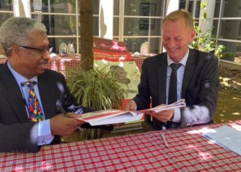 WHO representative in Uganda Dr Yonas Tegegn Woldemariam