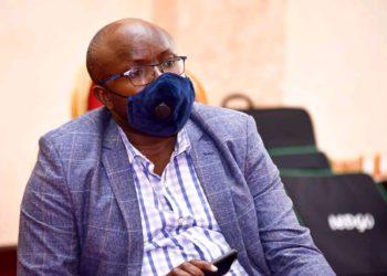 Don Wanyama, the senior presidential press secretary