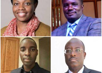 Clockwise, Agnes N. Kiragga, John Kitayimbwa, Ronald Galiwango, and Anthony K. Mbonye (PHOTO/File).