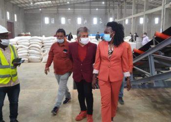 Investment minister Evelyn Anite