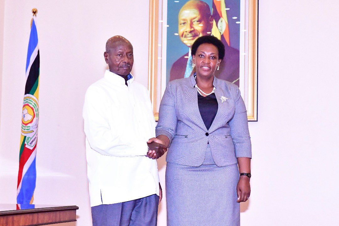 Ms Kamukama worked as Principal Private Secretary to president Museveni for four years (PHOTO/File).