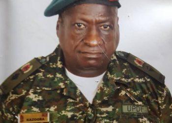Lt. Col. Benon Kazoora