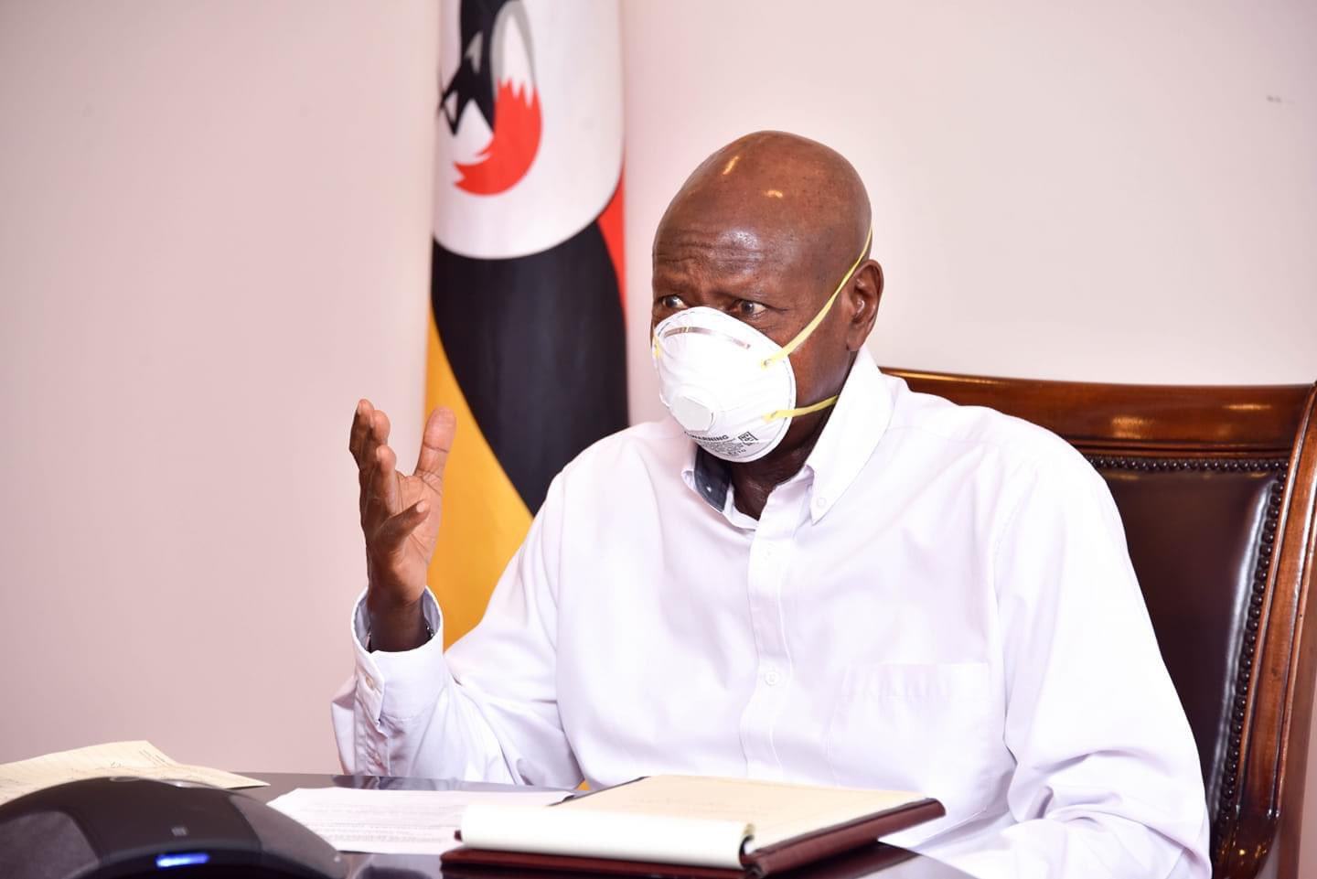 President Museveni has announced that government will provide free masks to Ugandans (PHOTO/File)