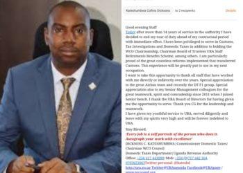Mr Dickson Kateshumbwa has resigned (PHOTO/PML Daily)