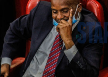 Embattled Deputy Speaker Kindiki Kithure during special sitting to debate his impeachment on May 22, 2020 (PHOTO/Twitter)