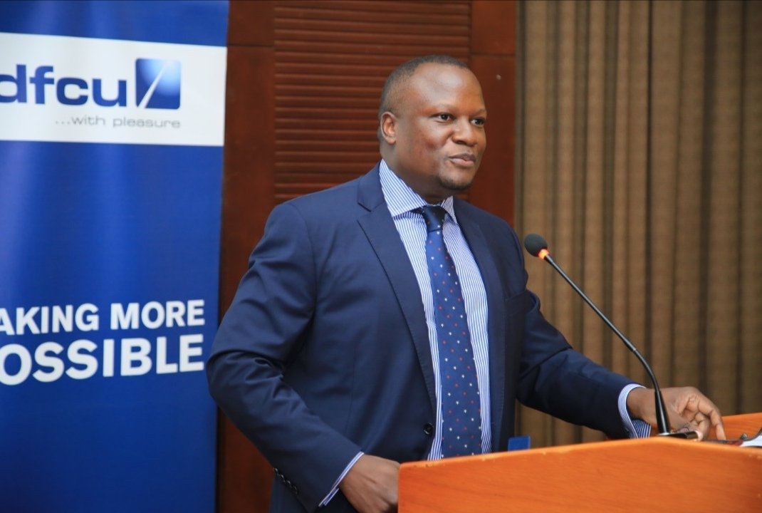 Mathias Katamba, CEO dfcu Bank (PHOTO/Courtesy)