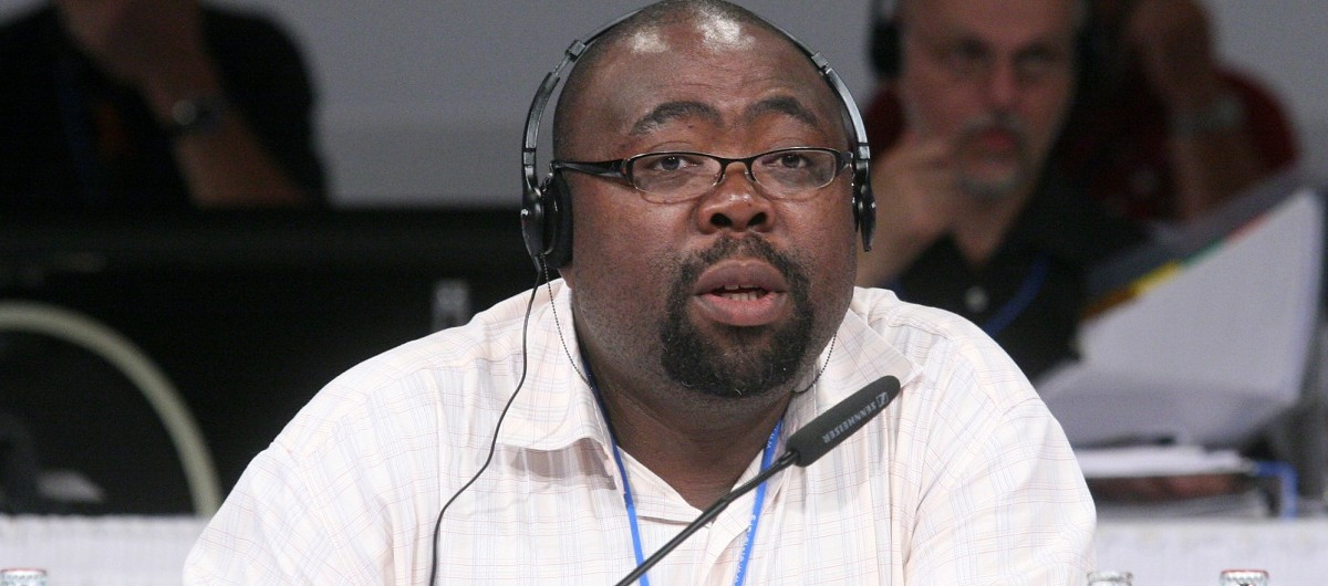 Thulas Nxesi, the South African Minister of Employment and Labour