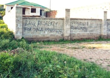 One of the houses that one of the banks in Moroto has advertised after the client defaulted last month (PHOTO/Jonathan Opolot)