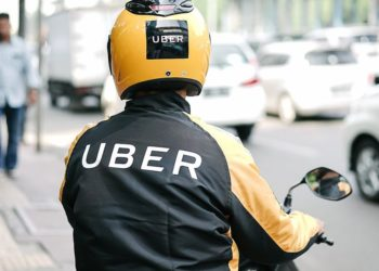 Uber boda man drives to deliver his customer's goods (PHOTO/File).