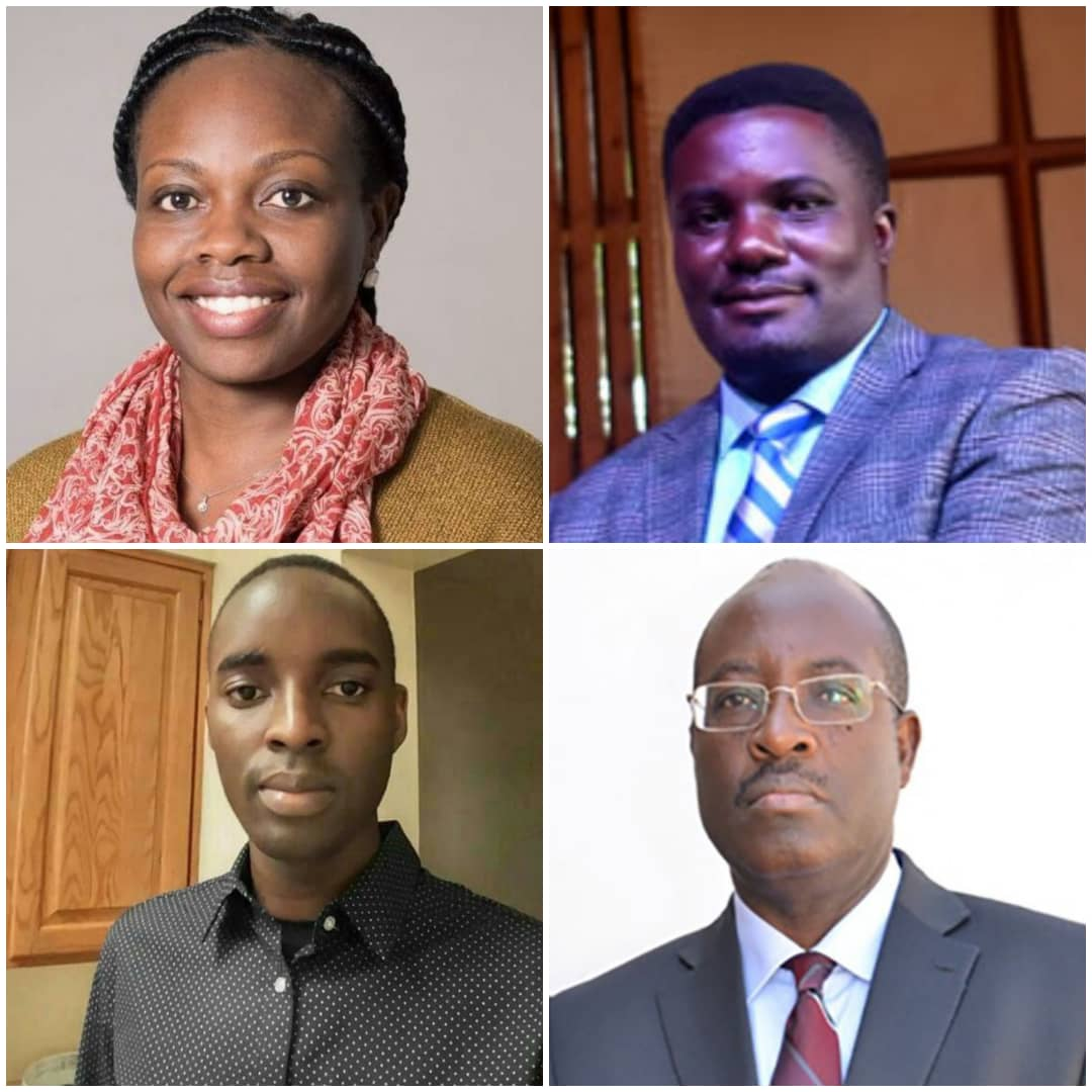 Clockwise, Agnes N. Kiragga, John Kitayimbwa, Ronald Galiwango, and Anthony K. Mbonye (PHOTO/File).