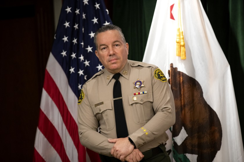 Los Angeles County Sheriff Alex Villanueva (PHOTO/File).