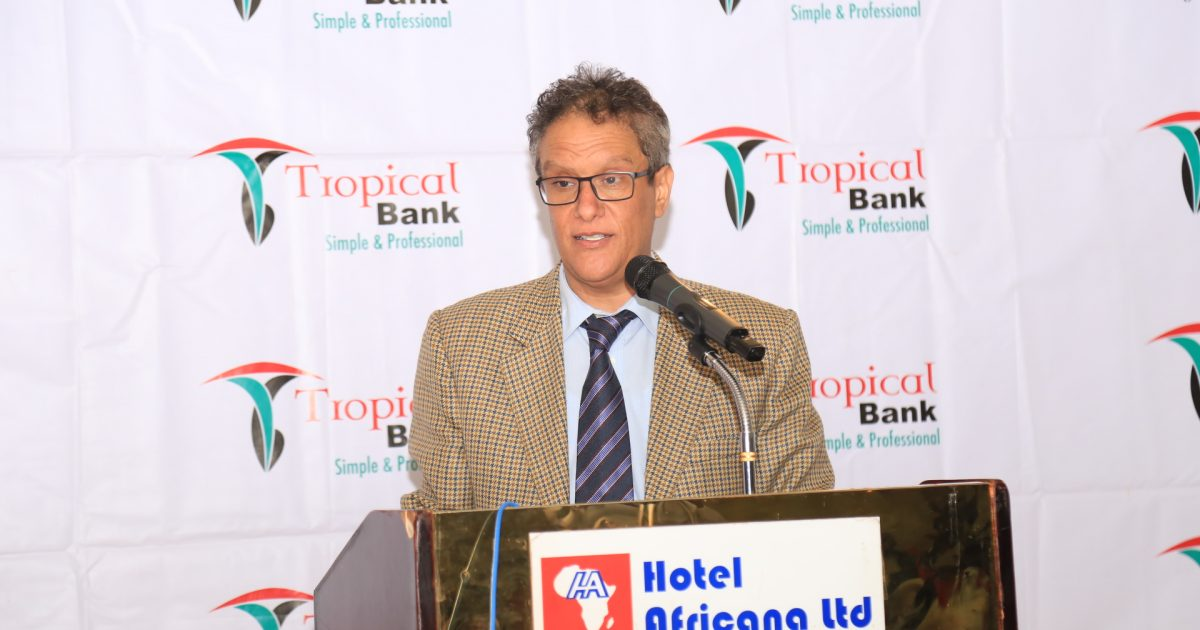 Abdulaziz M.A Mansur, the Tropical Bank's Managing Director