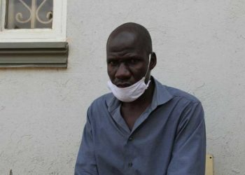 George Muyomba, claims he was dismissed from the job after instructing a boss to wear a face mask (PHOTO/Courtesy)