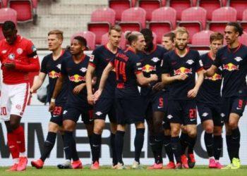 Leipzig hammered Mainz 5-0 in their last Bundesliga game. (PHOTO/Courtesy)