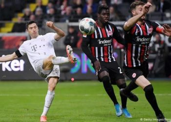 Frankfurt humiliated Bayern 5-1 in the first meeting between the two sides this season. (PHOTO/Courtesy)