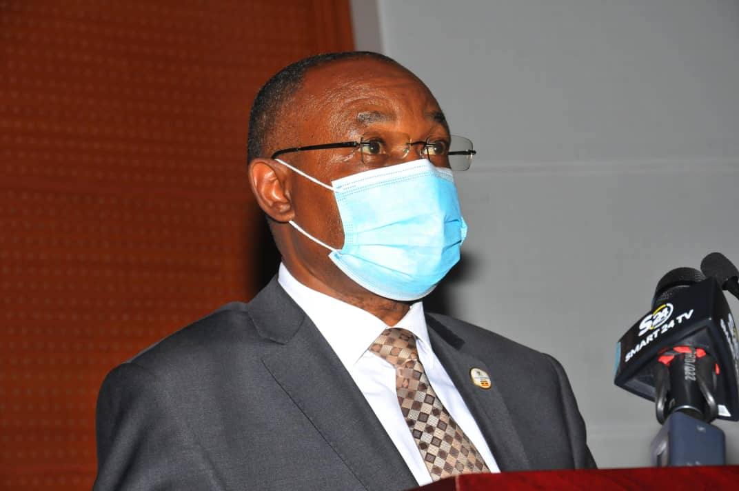 Minister of Local government and Igara West MP, Rapheal Magyezi
