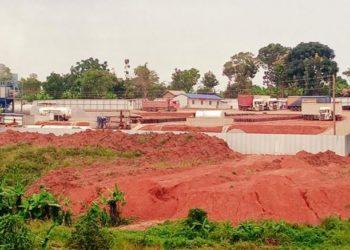A stone-crushing facility located in Gayaza (PHOTO/Courtesy).