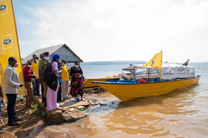15-seater ambulance boat donated to Kiyindi landing site (PHOTO/Courtesy)