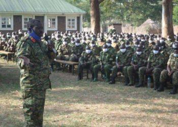 Lt General Peter Elwelu