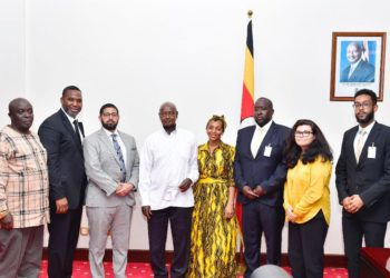Some of the African American investors who met with President under the guidance of Mr Isaac Kasozi the MD EAP (PHOTO/File)