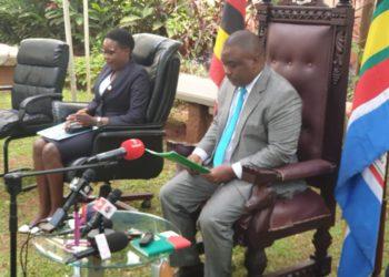 Lord mayor Erias Lukwago has appointed Doreen Nyanjura as Deputy Mayor Kampala Capital City Authority (PHOTO/Courtesy)
