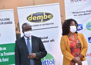 Dembe Group, who will be in charge of distributing the packs lauded the initiative (PHOTO/Courtesy)