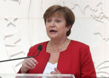 Kristalina Ivanova Georgieva-Kinova is a Bulgarian economist serving as Chairwoman and Managing Director of the International Monetary Fund (PHOTO/File).