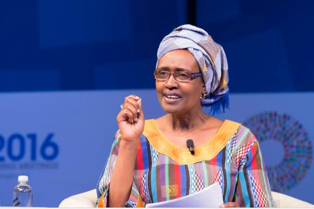 Winnie Byanyima, Executive Director of UNAIDS during a conference in Geneva (PHOTO/Courtesy).