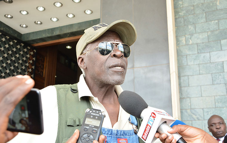 Maj Gen. Kasirye Ggwanga passed on today (PHOTO/File)