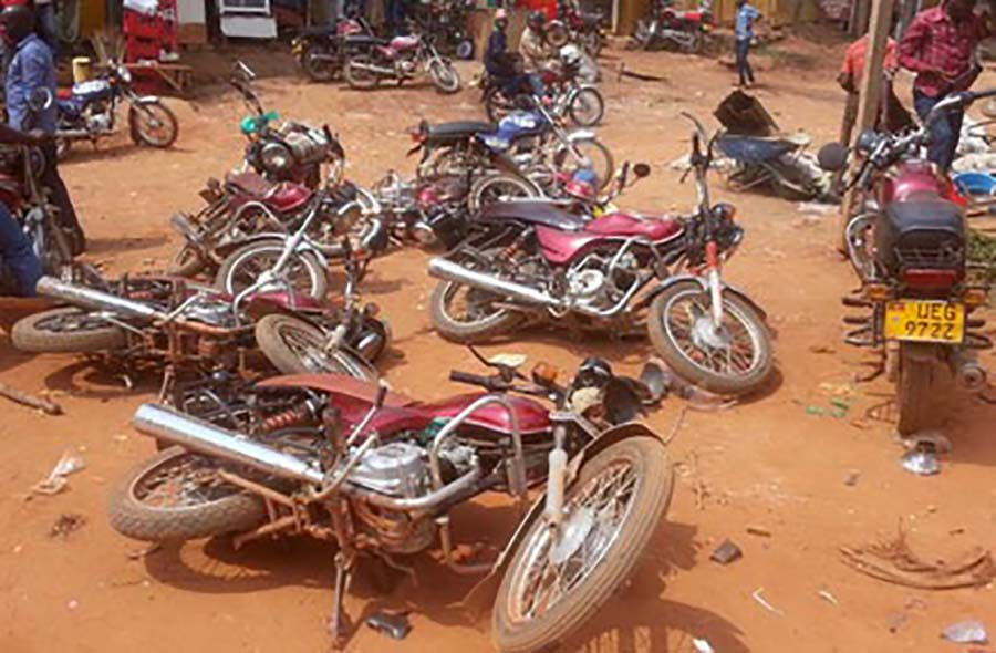 Boda boda riders in Kampala have threatened to protested the ban on them to carry passengers over Covid-19 (PHOTO/File).