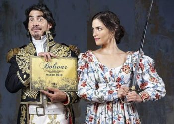 Bolivar was popular in Latin America, but the telenovela style and format alienated international viewers (PHOTO/Courtesy)